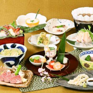 心斎橋の和食店「にし家」の懐石料理